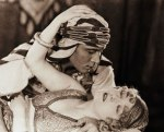 Rudolph Valentino as The Sheik